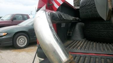 Nerf Bars Avalanche Truck